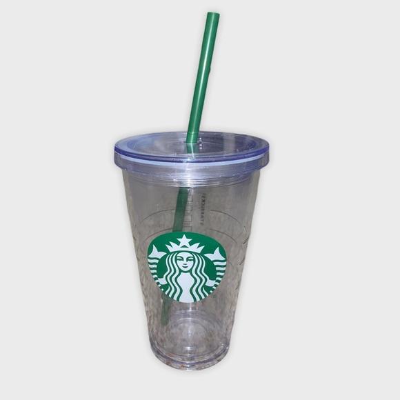 Starbucks Clear Cup Tumbler 14oz Plain